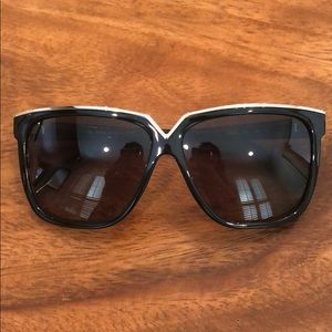Valentino sunglasses with protective case.